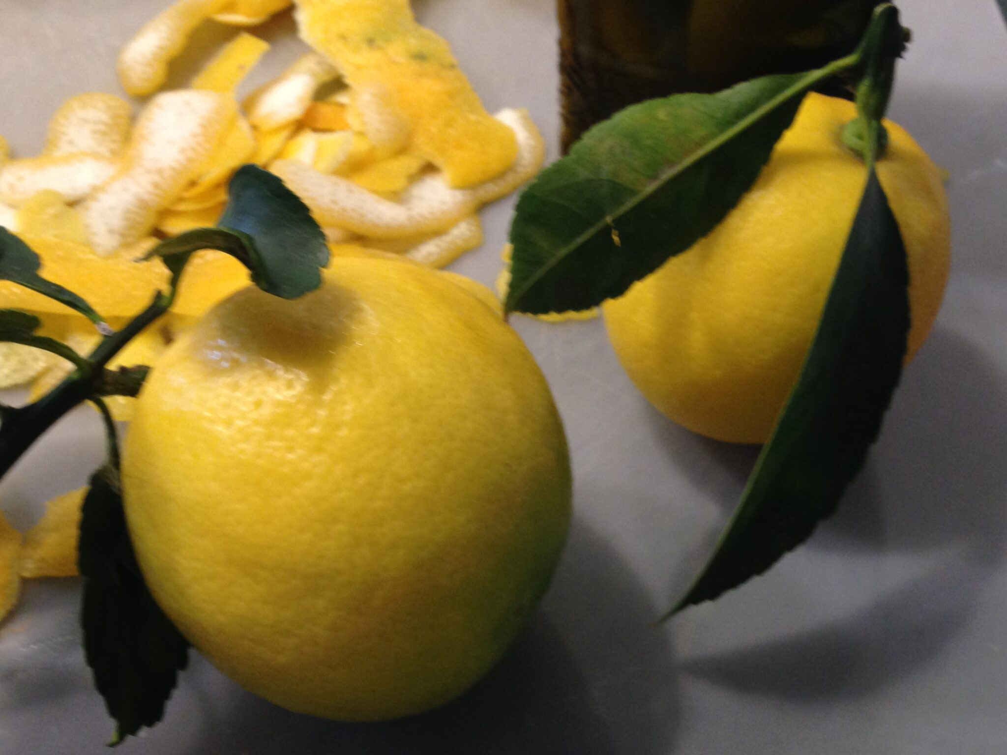 When You Have Lemons, Make Limoncello