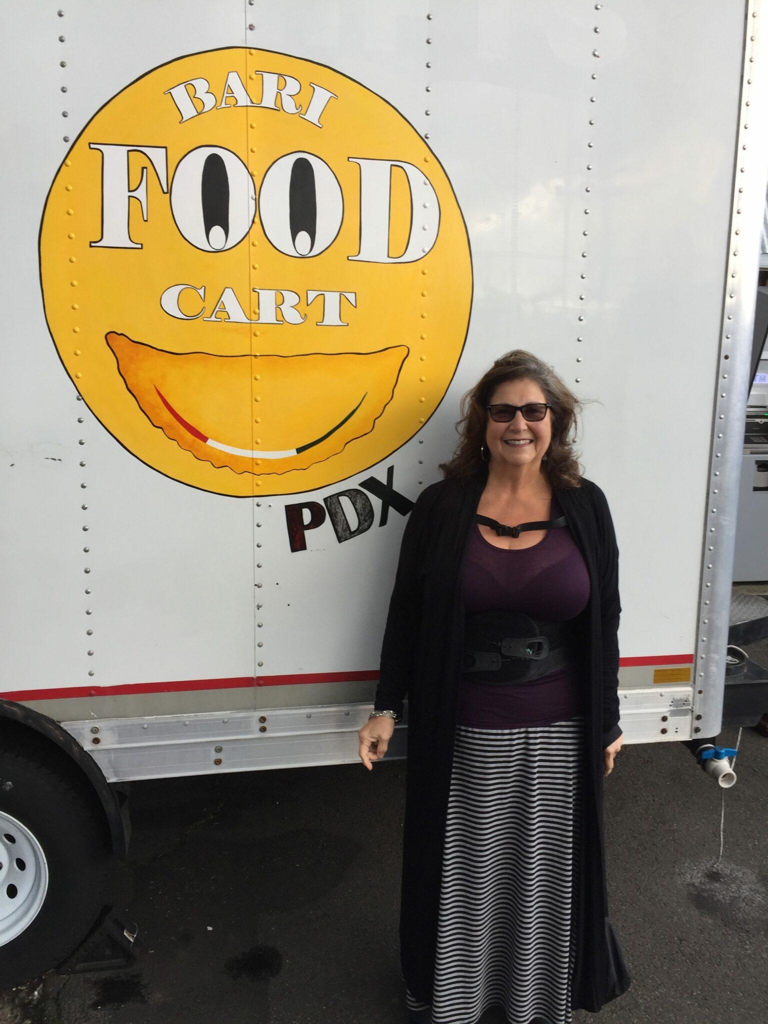 Bari Food Cart in Portland
