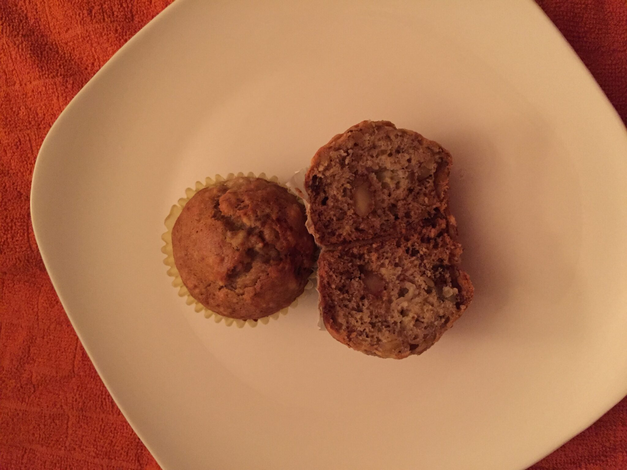 Yes, We Have No Bananas….Because We Made Banana Muffins!