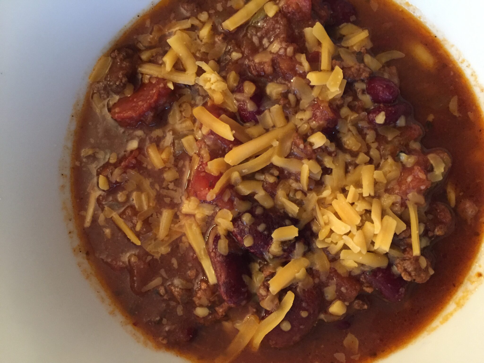Chili For a Chilly Day
