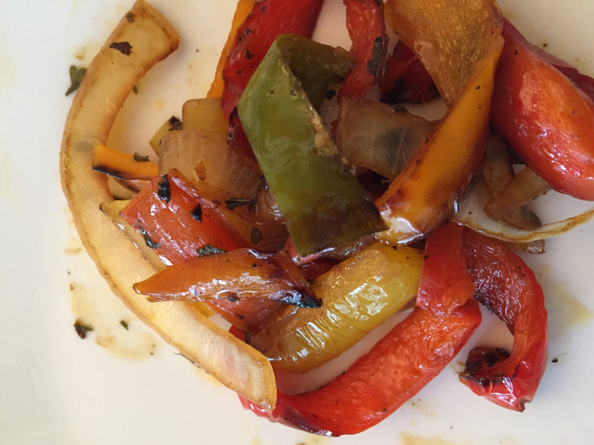 Peppers & Onions – A Favorite Italian Side Dish