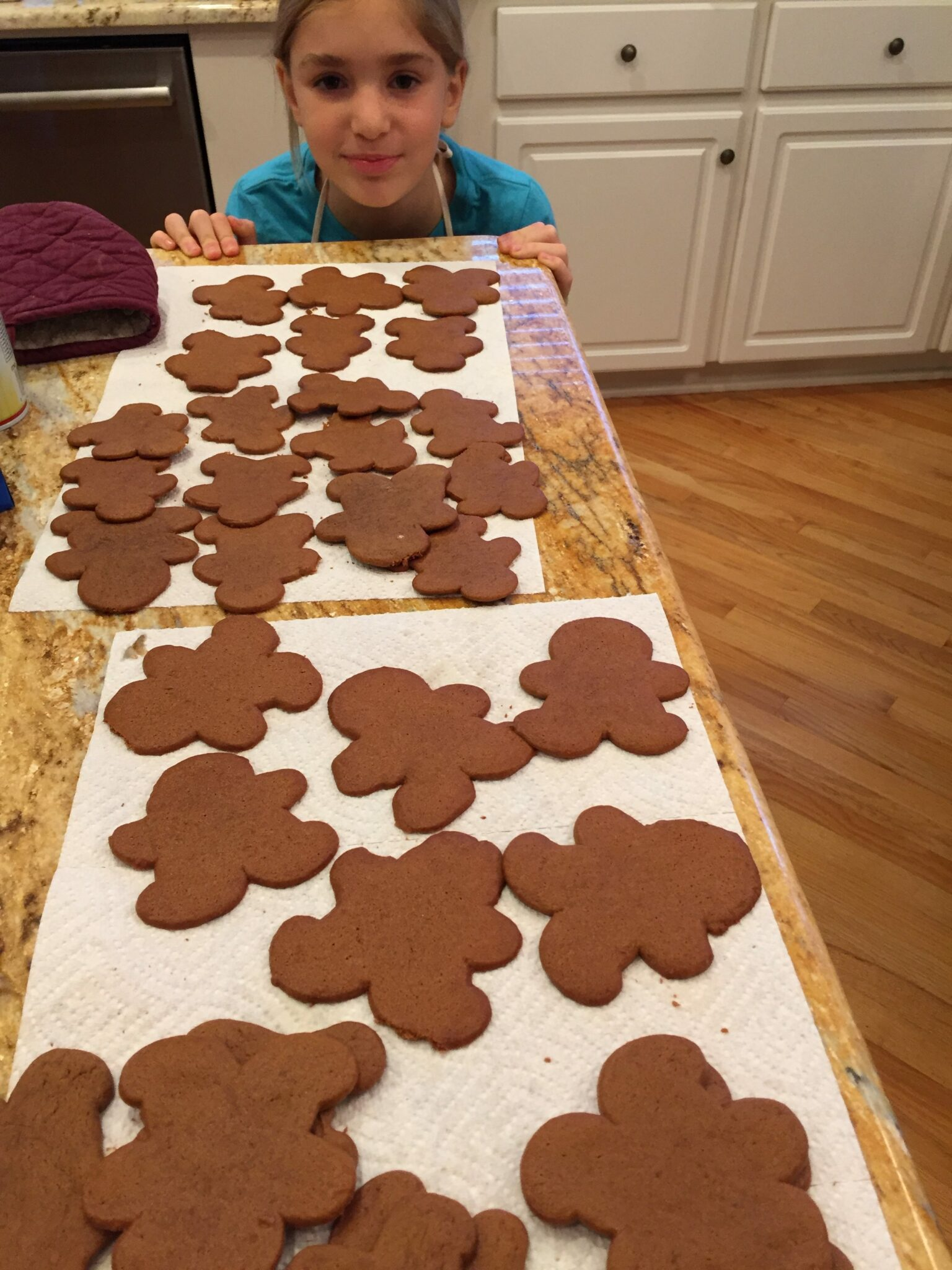 Gingerbread Men Made With Small Hands And Love