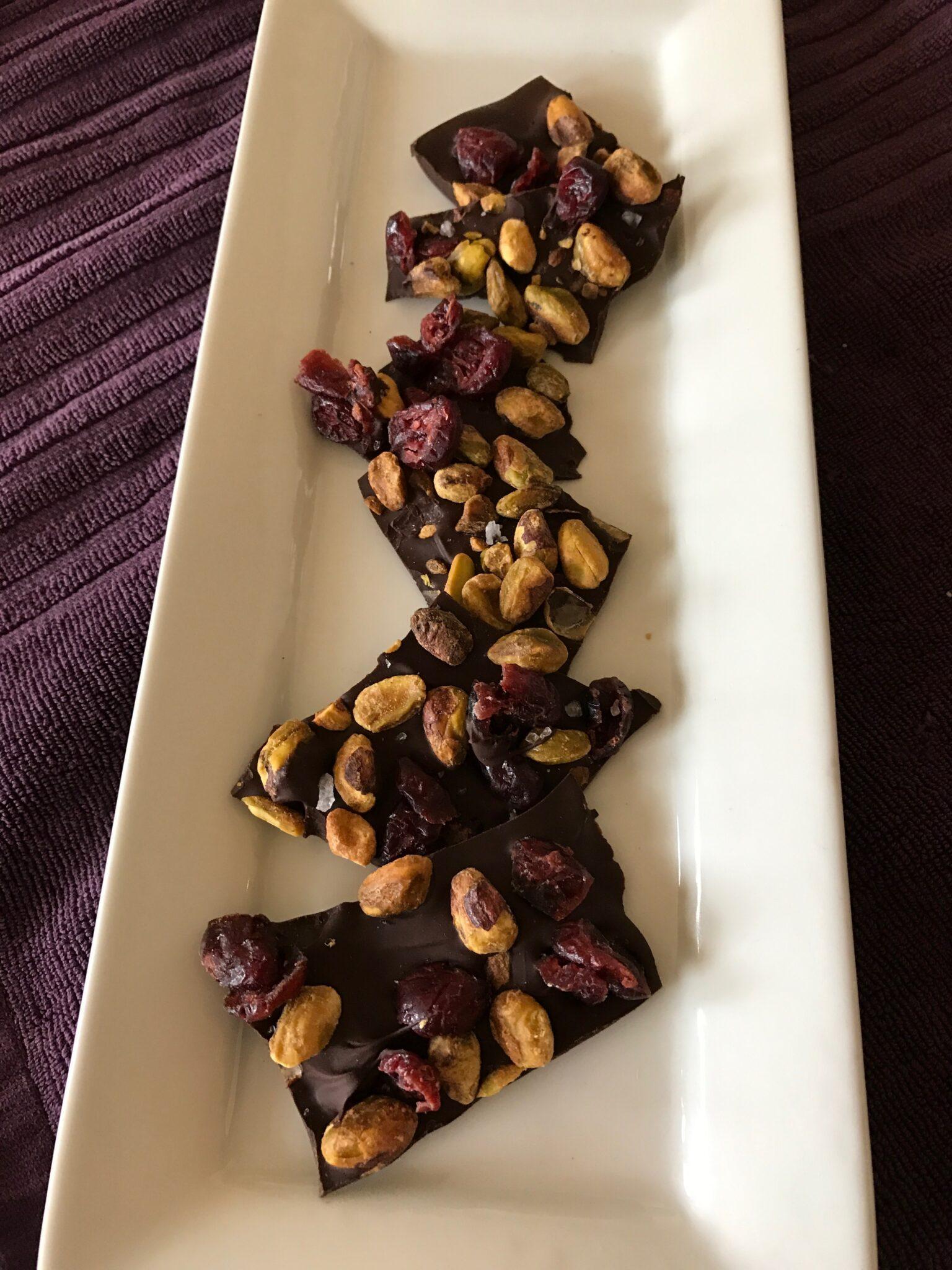 When Nothing But Chocolate Will Do – Make Dark Chocolate Bark