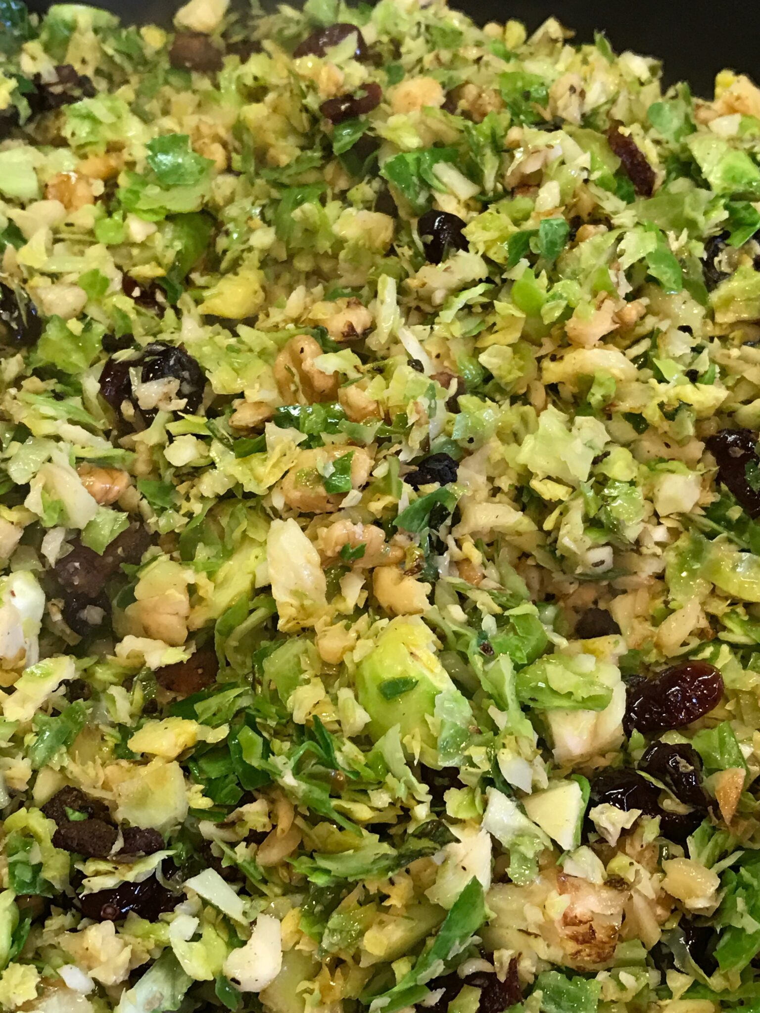 Copy Cat Warm Brussel Sprouts Slaw