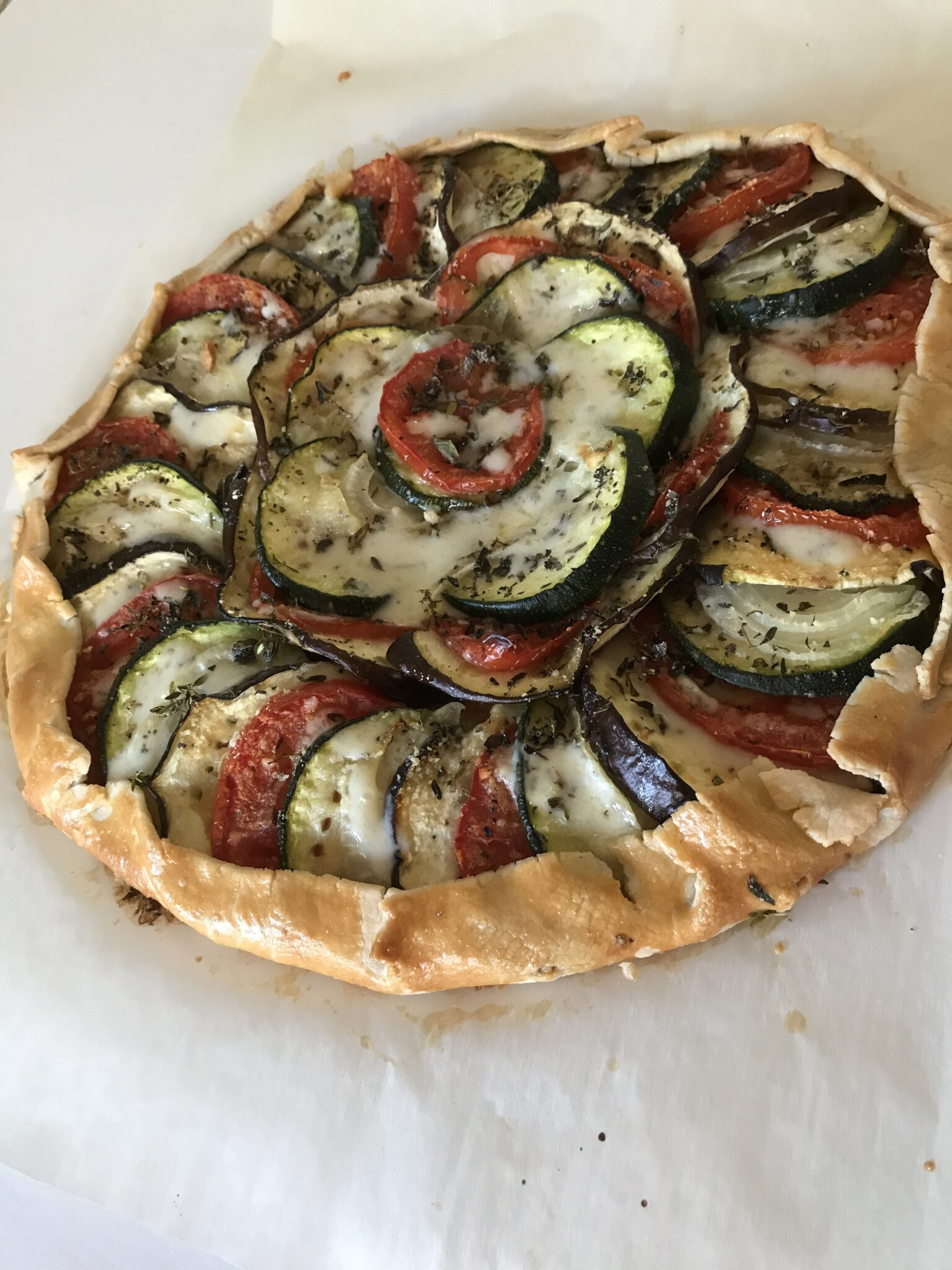 Yummy, Yummy, Veggies In My Tummy – Vegetable Galette