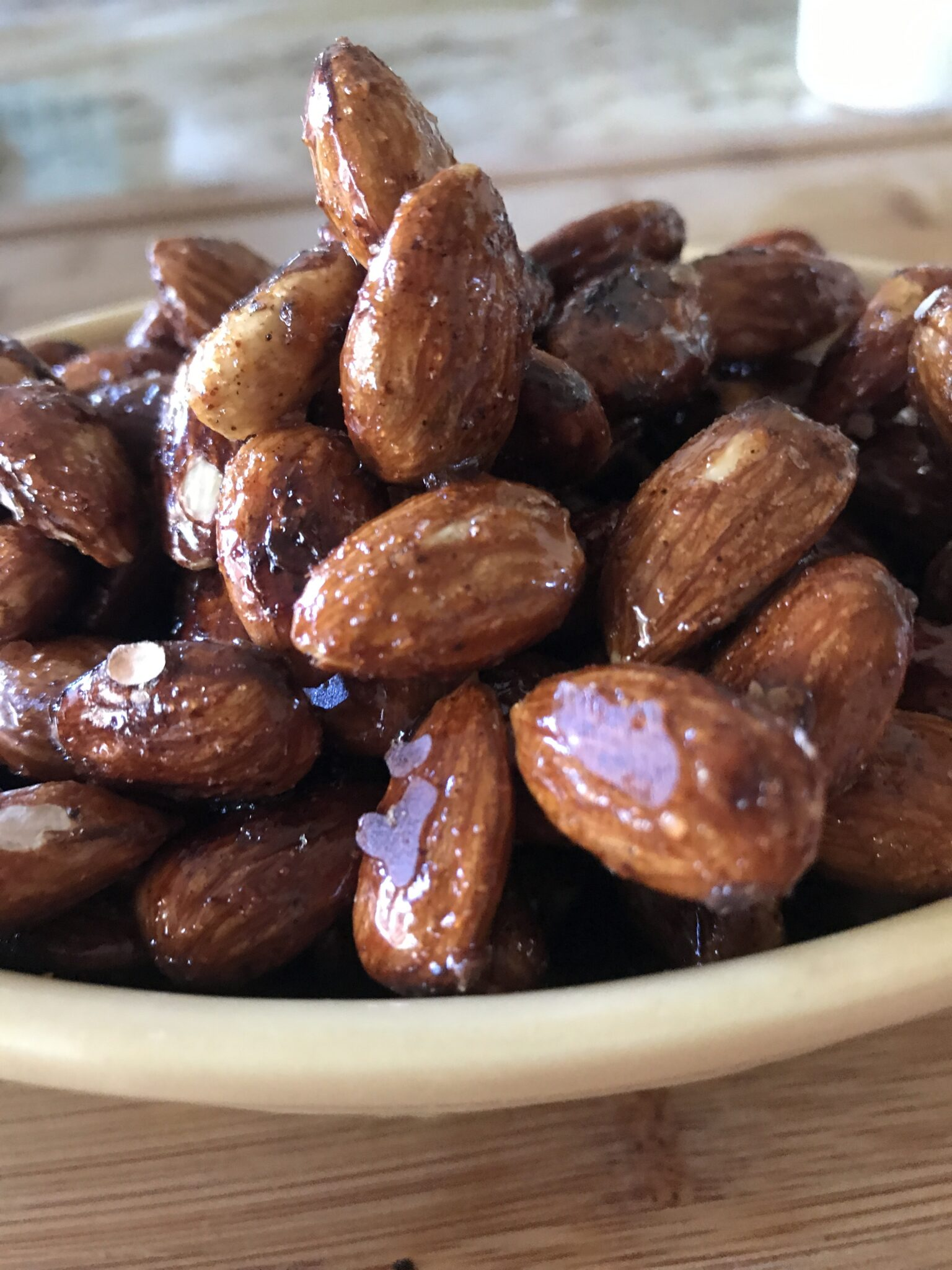 I've Got A Lovely Bunch Of Honey Spiced Almonds