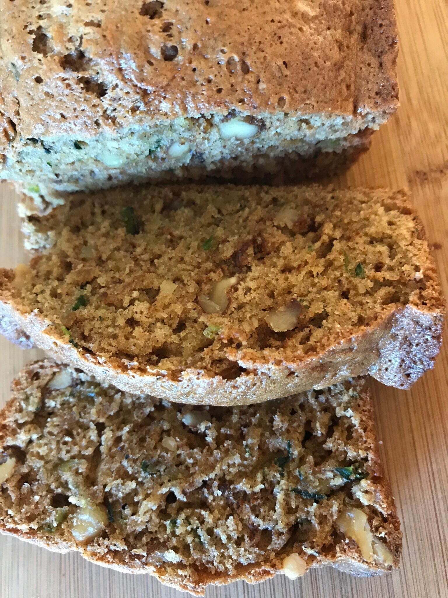 Zucchini Bread Taste Off #3 – And The Winner Is…..