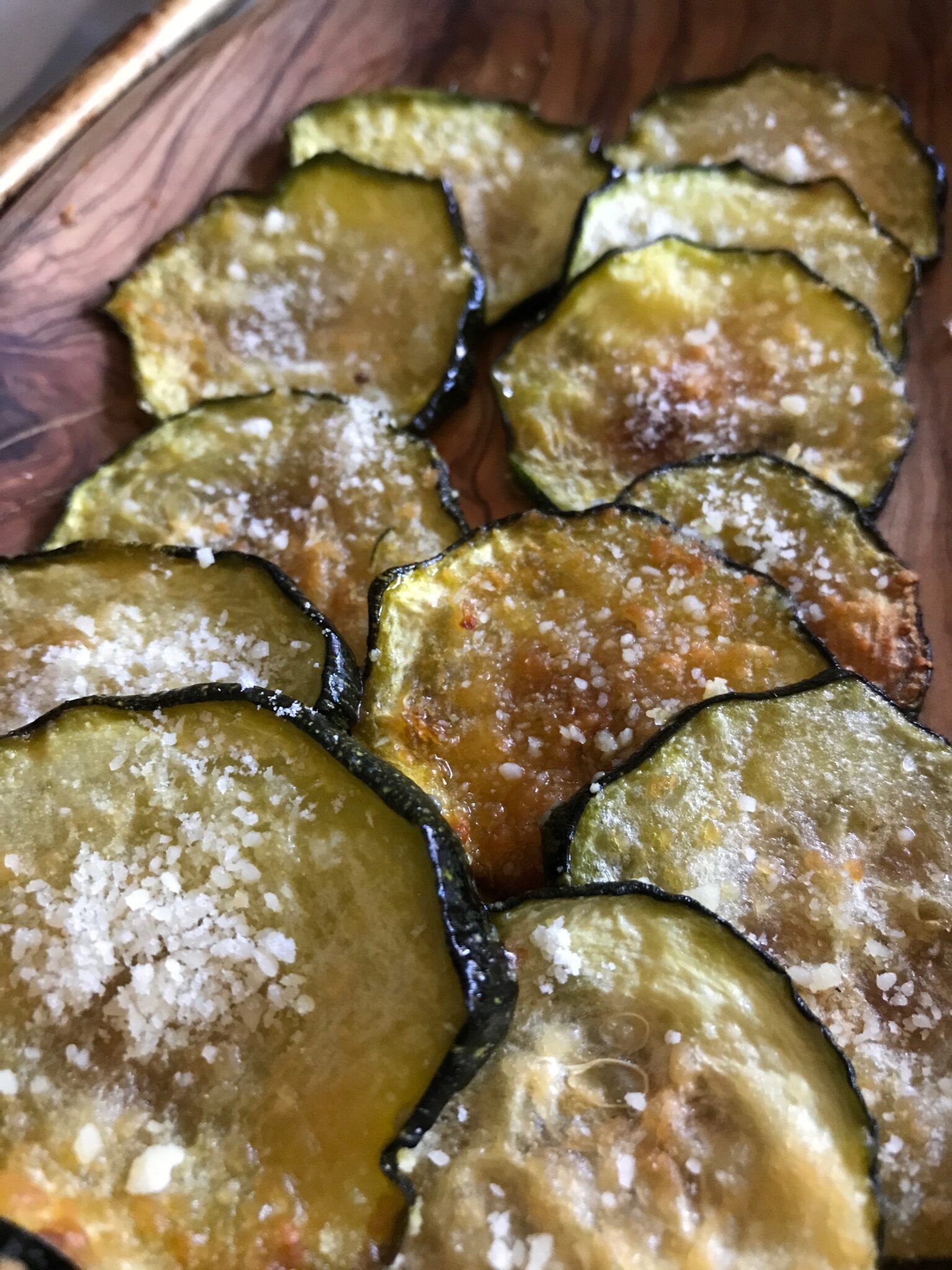 Chip, Chip, Chip….. Zucchini Chips
