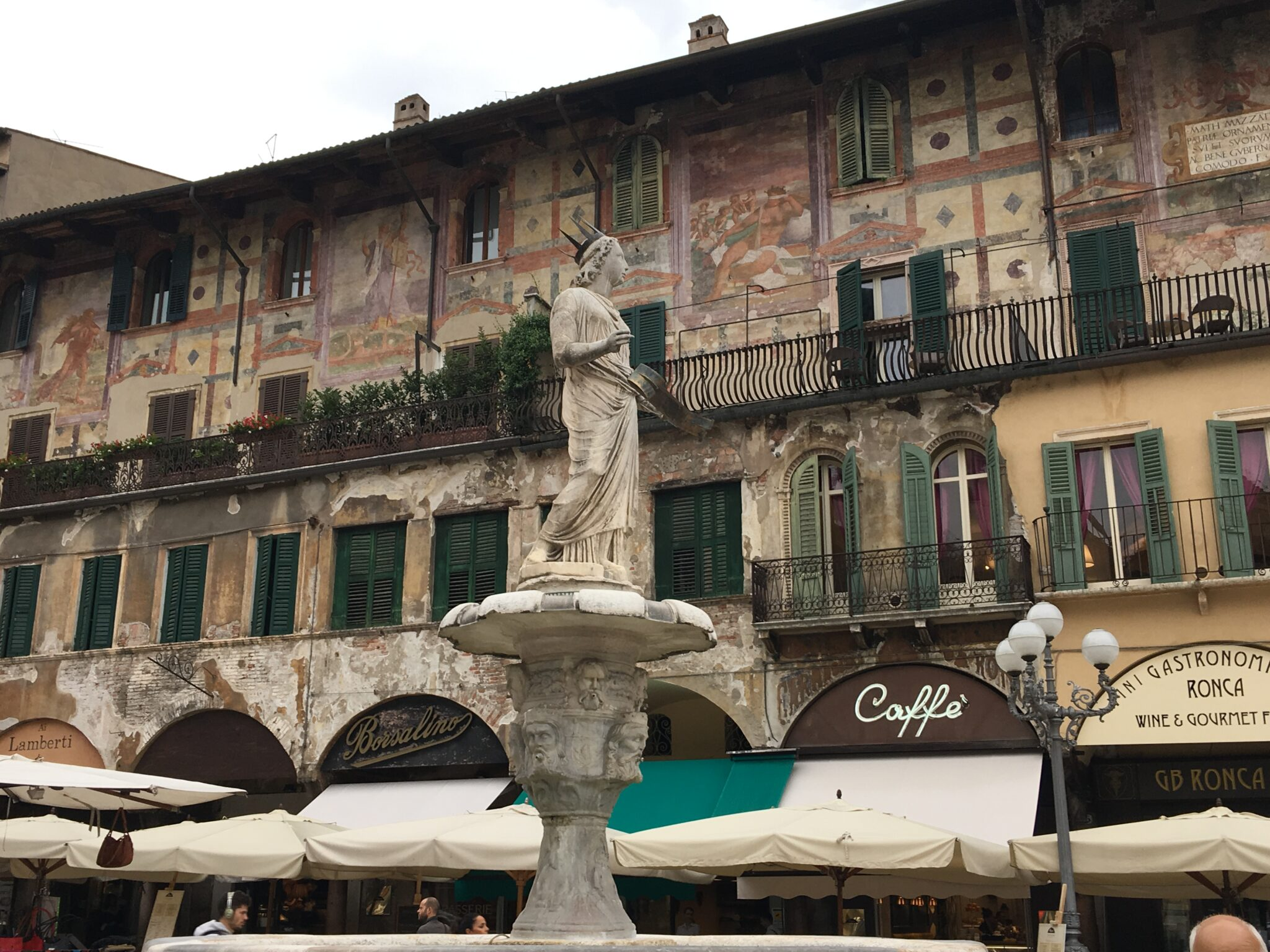 2017 – Verona Day 2 – The Streets Are Paved in Marble