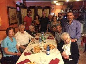 Family in Bari Italy