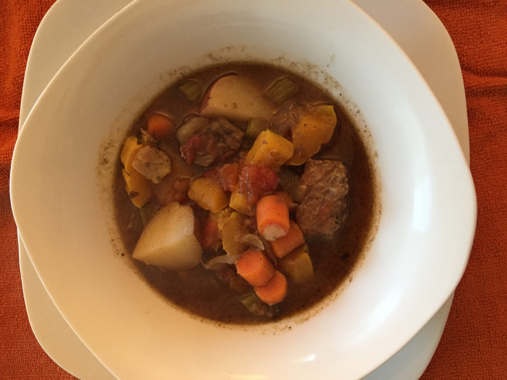 In a Stew? Try My Hearty Beef Stew!