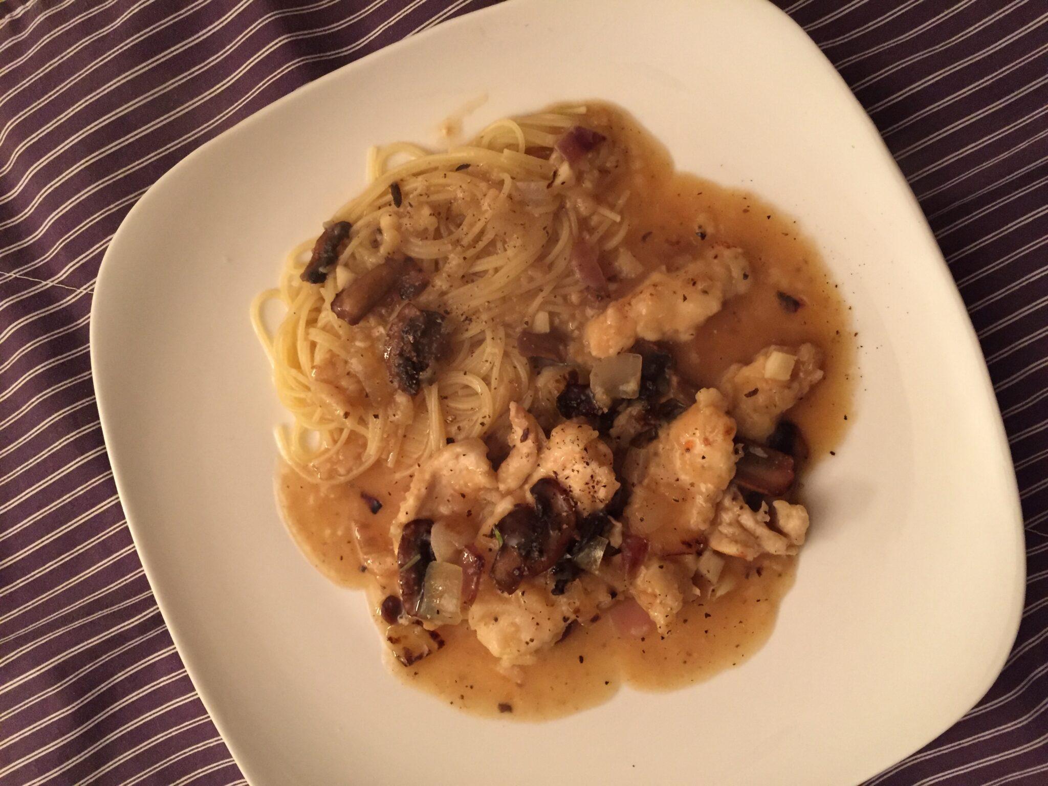 Marsala Chicken aka Chicken Cooked in Wine – Oh Yah!