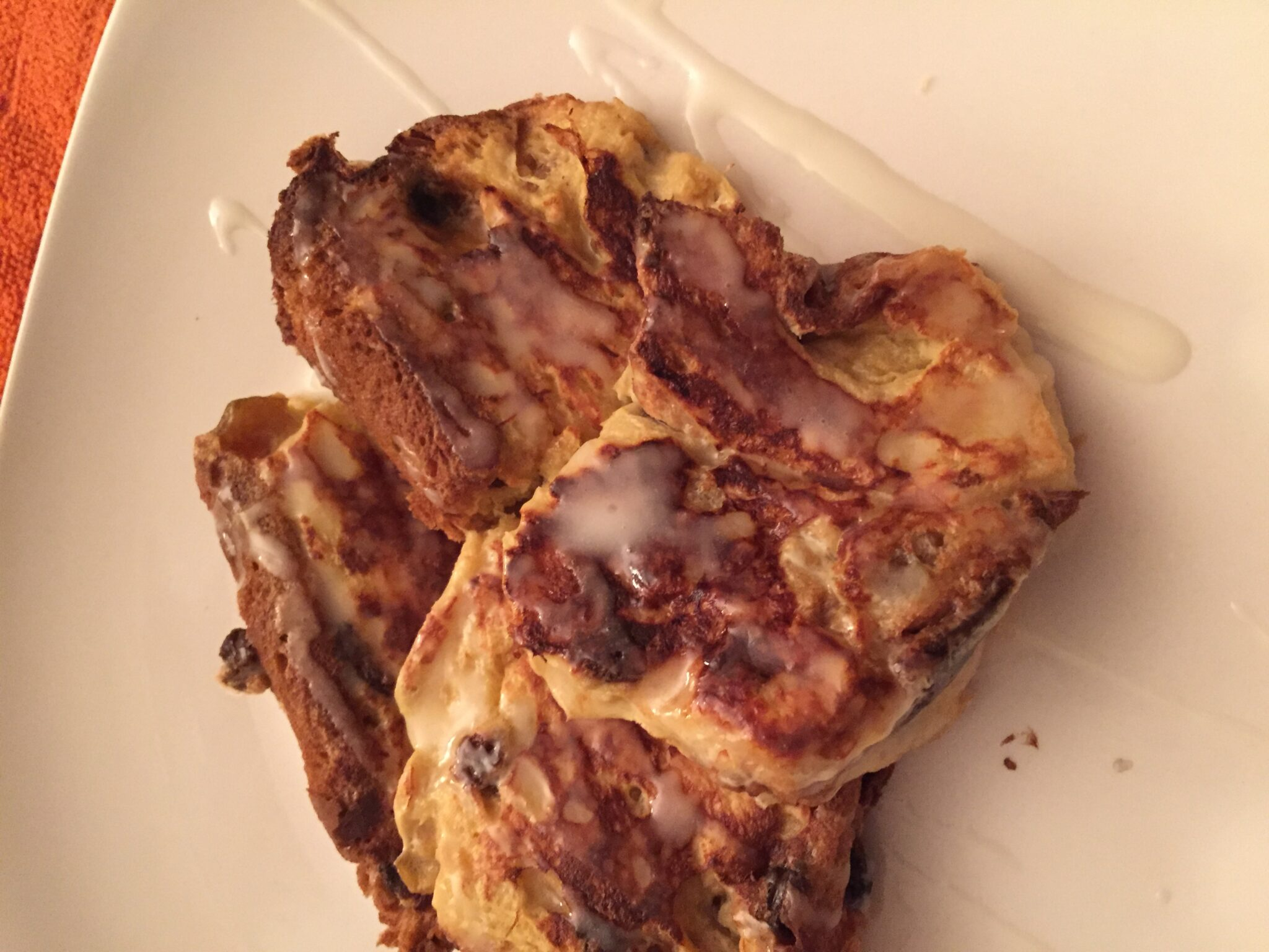 French Toast Italian Style With Panettone