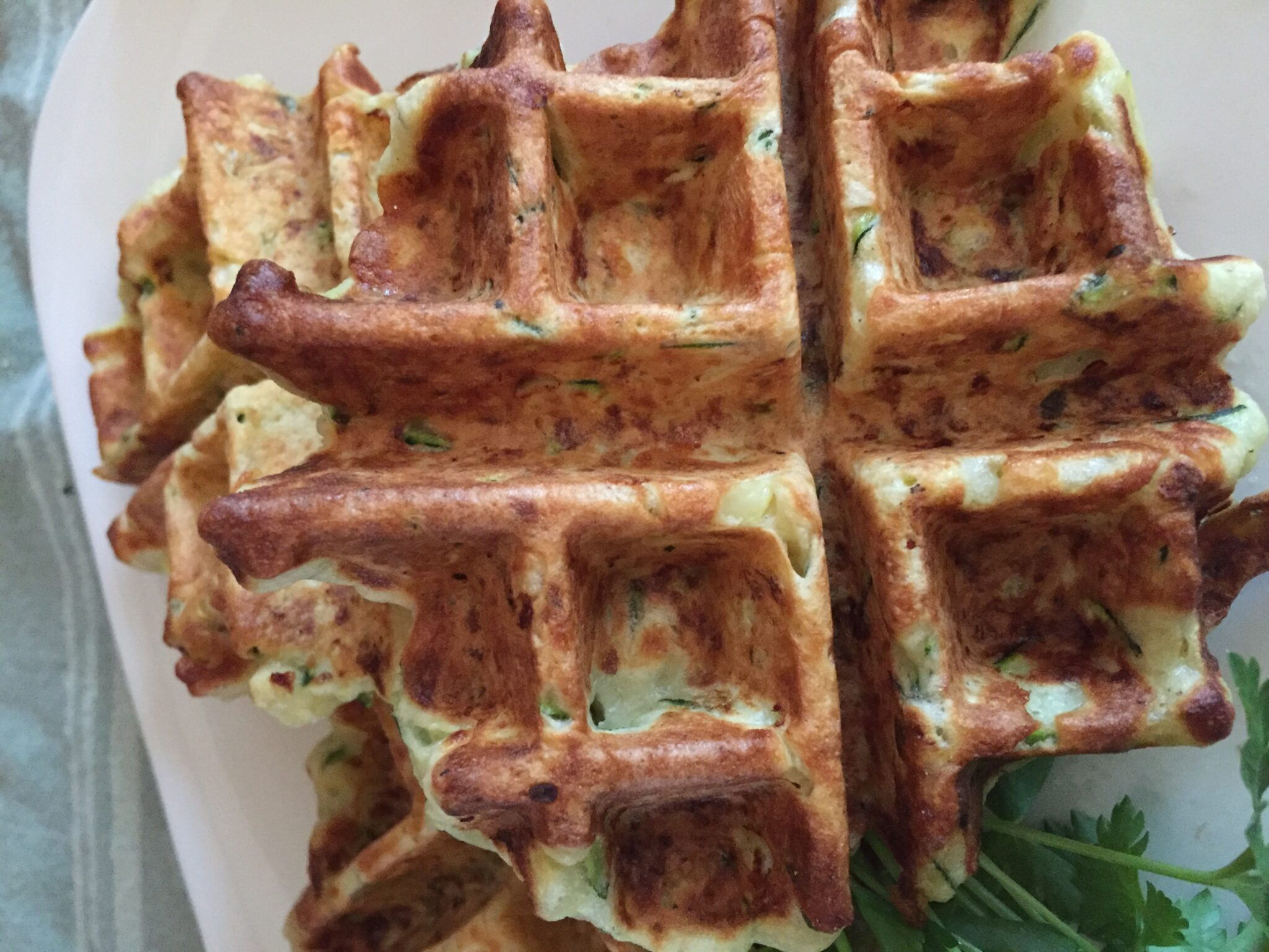 Zucchini Waffles – Don't Knock Them Until You Try Them
