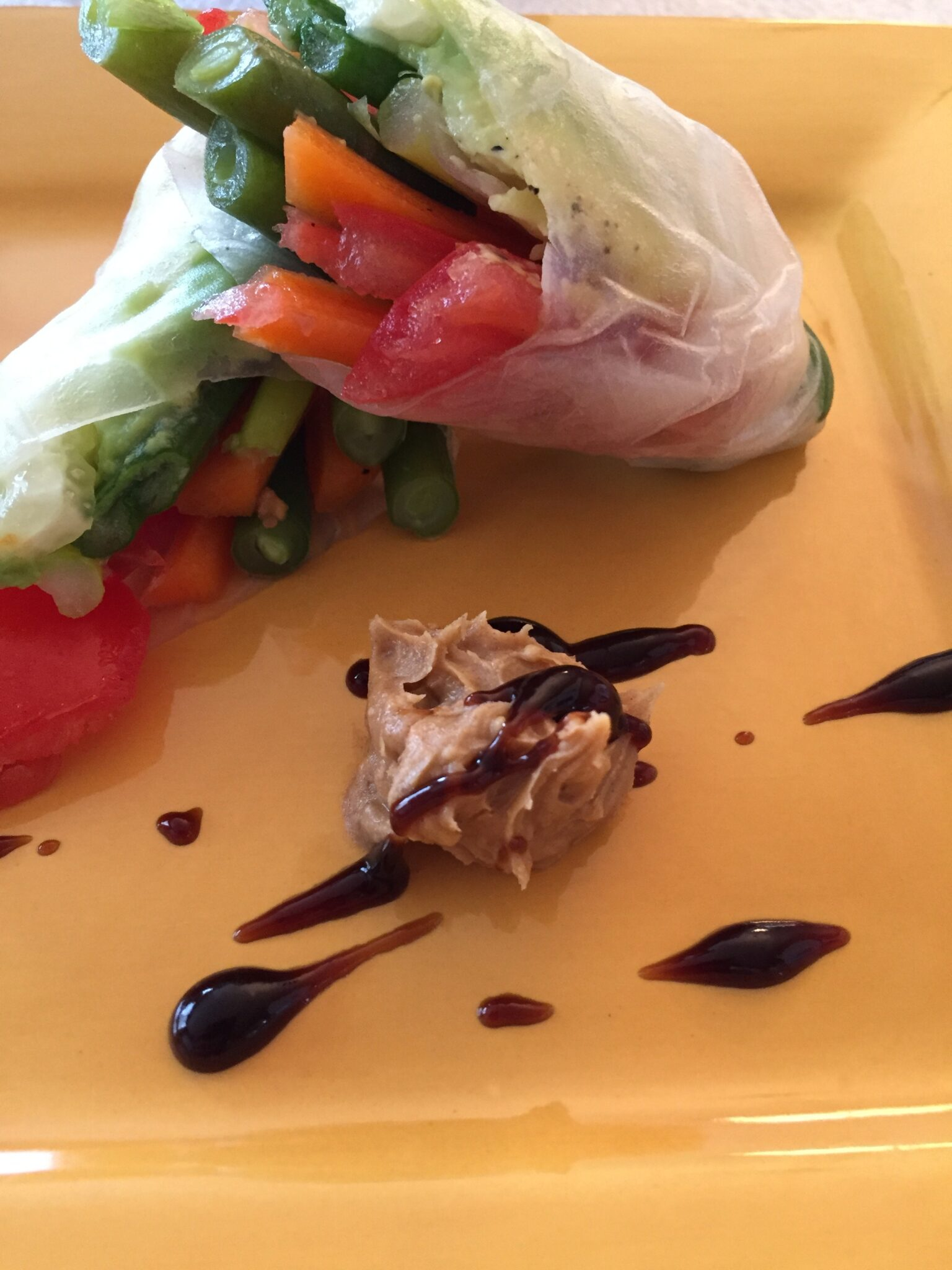 Happy Chinese New Year! Celebrate With Salad Rolls & Peanut Sauce