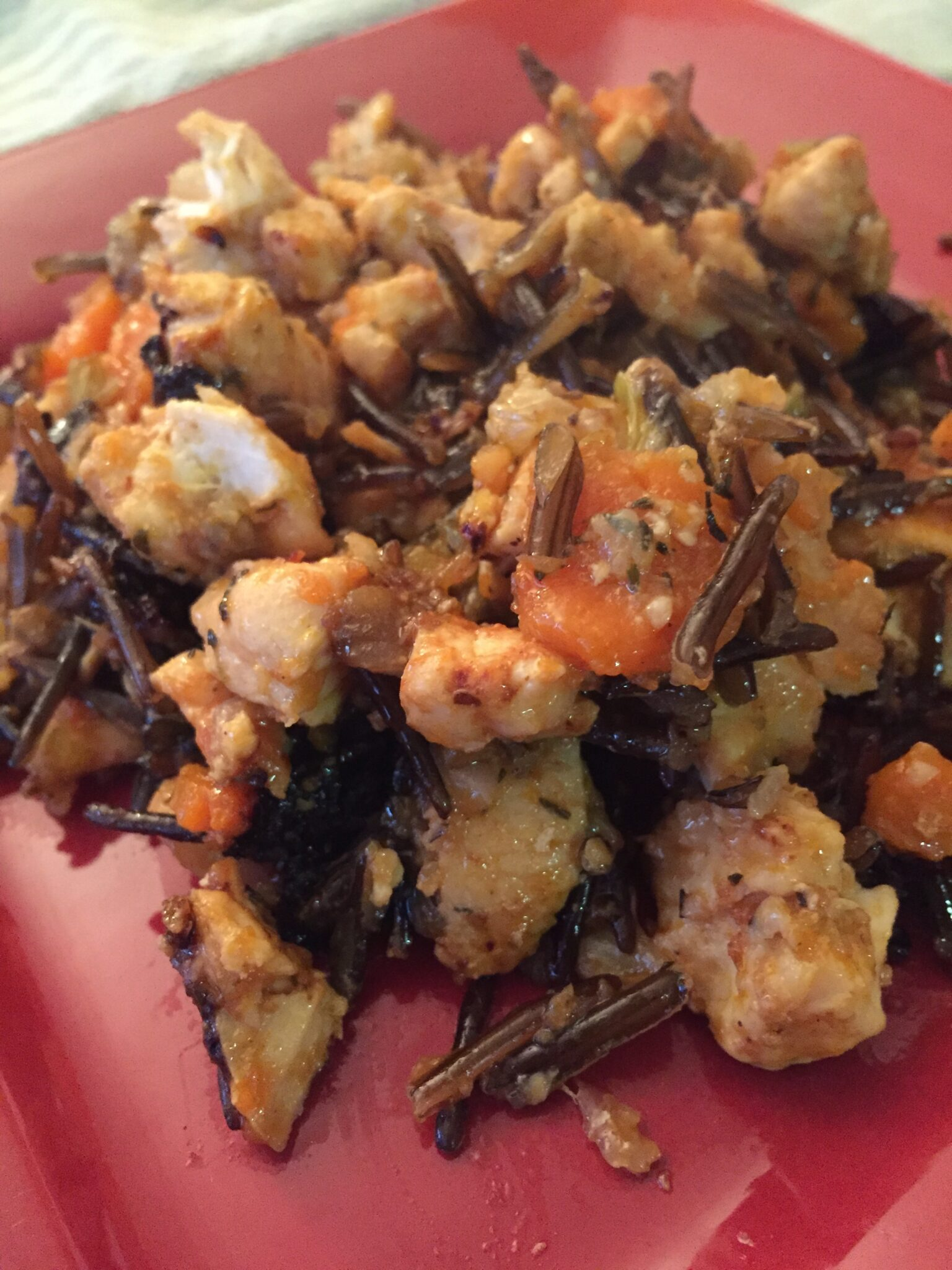 25 Cloves of Garlic…. In This Chicken and Wild Rice