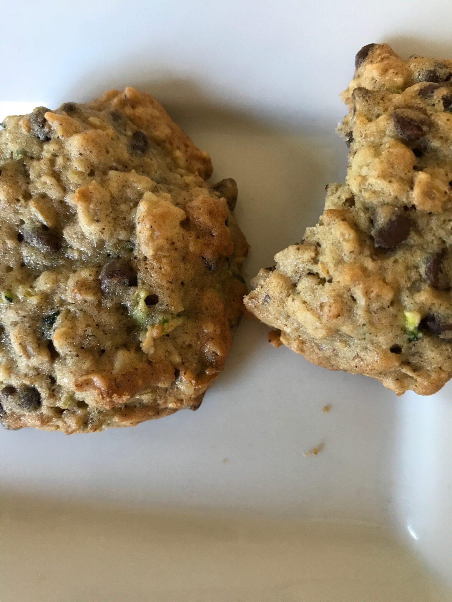 Cookie Jar Empty? Try Oat Nut Chocolate Chip Zucchini Cookies