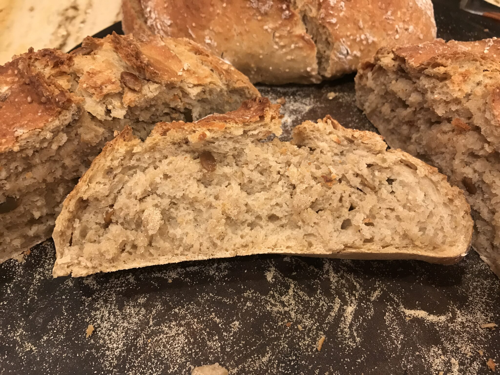 No Knead To Be Intimidated By This Multi-Grain Bread