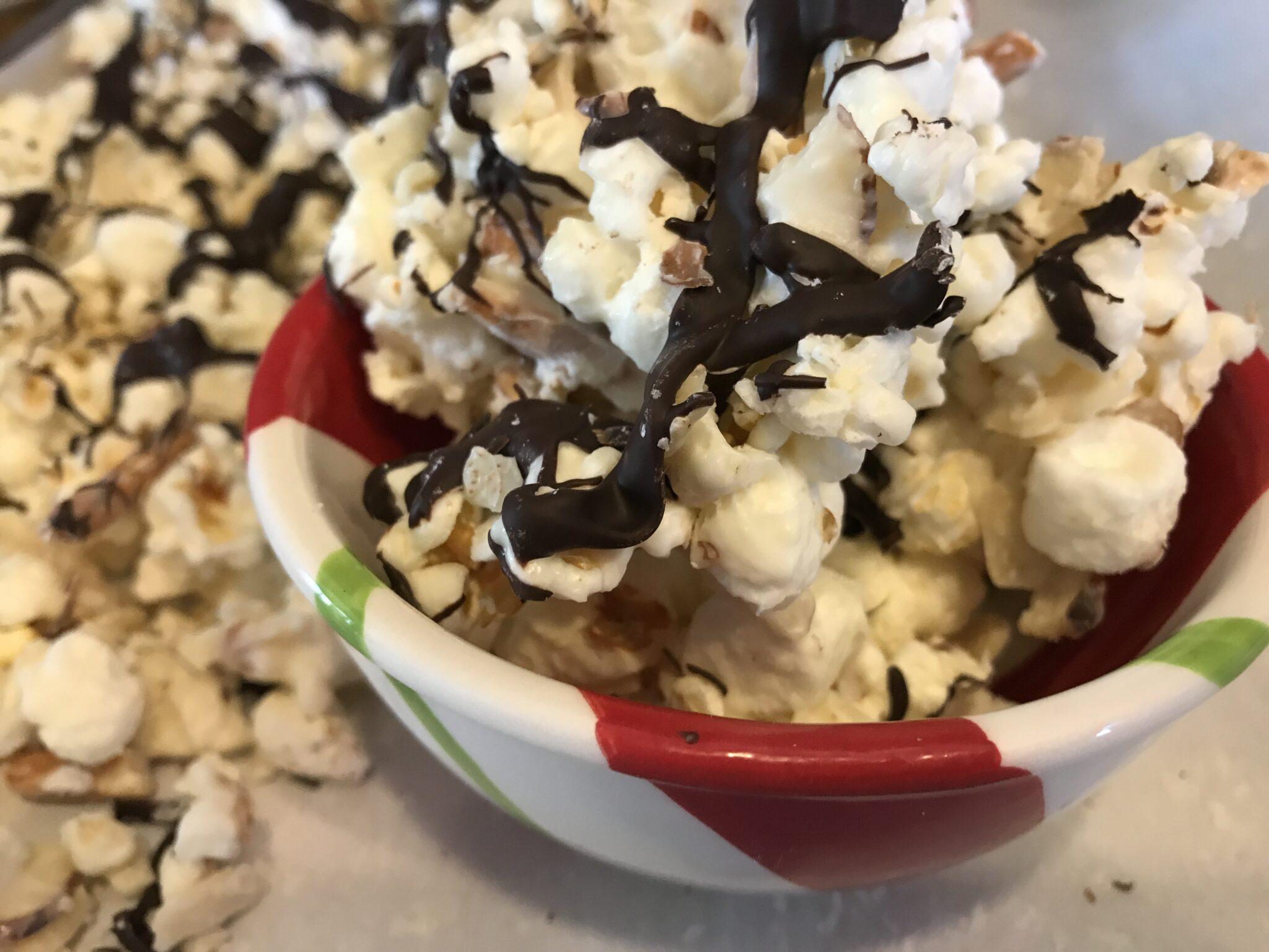I'll Double It! Chocolate Popcorn Treats