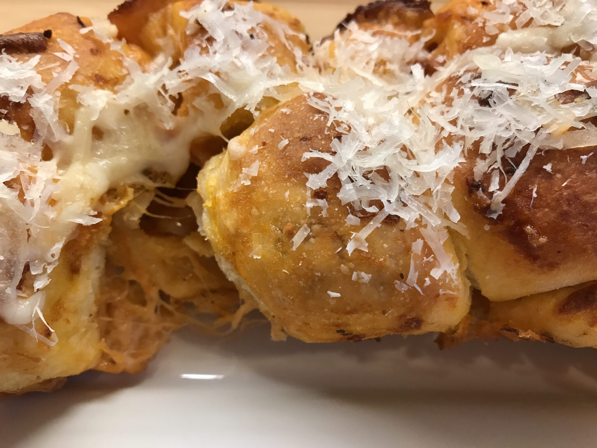 Knotted Pleasures In Garlic Pizza Balls