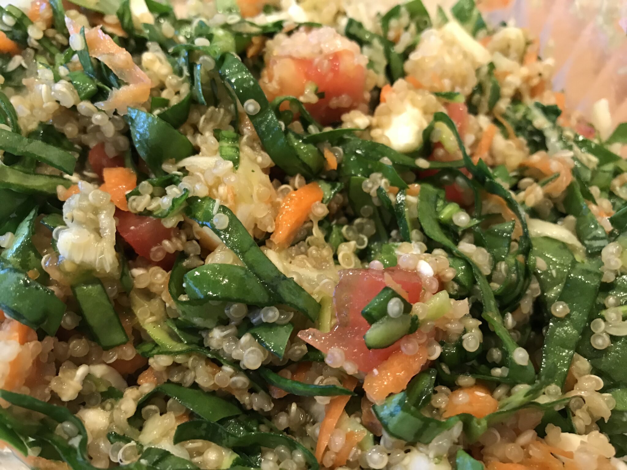 When Harry Met Salad – Quinoa Vegetable Salad