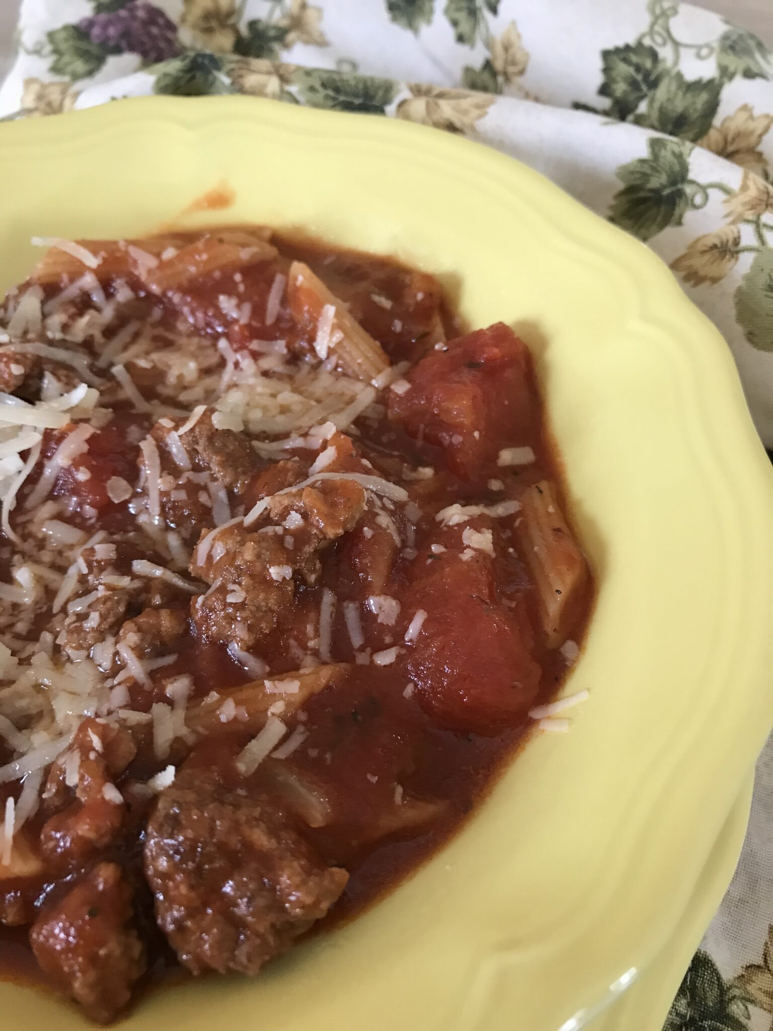 Love Hungarian Style… Converted To Italian Style Goulash