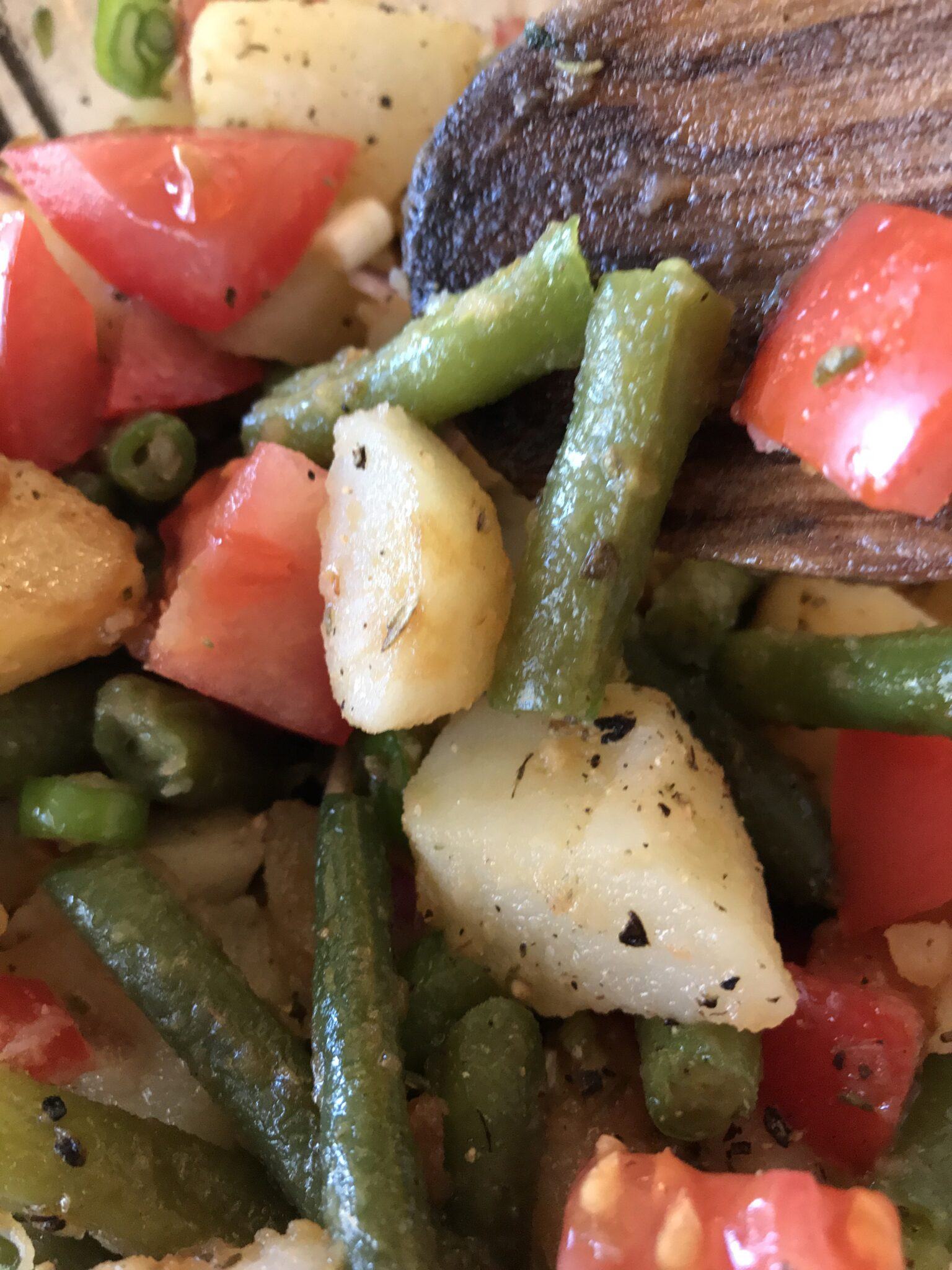 Green Bean and Potato Salad – Italian Style