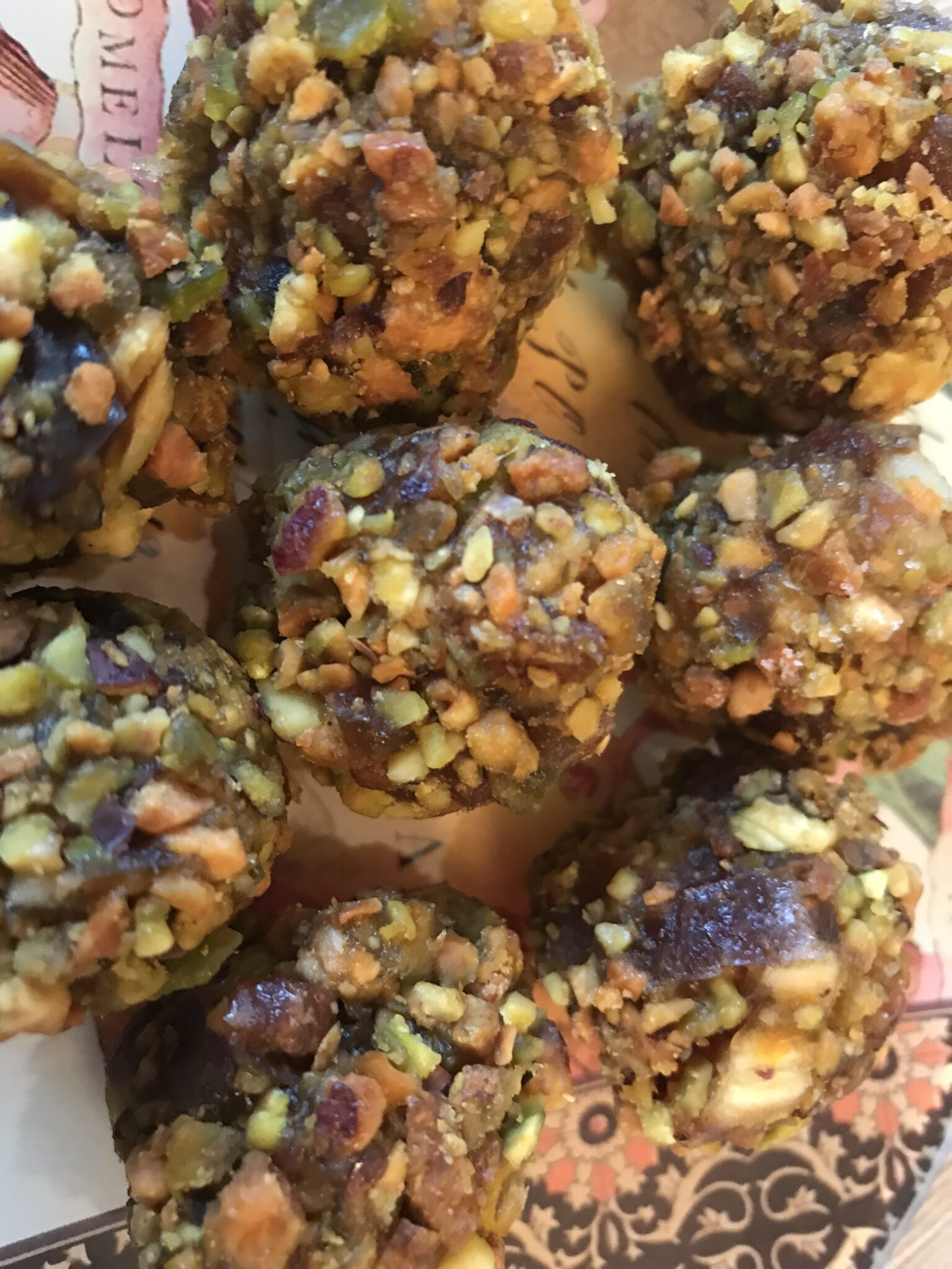 Clockwork Orange… And Pistachio Energy Balls