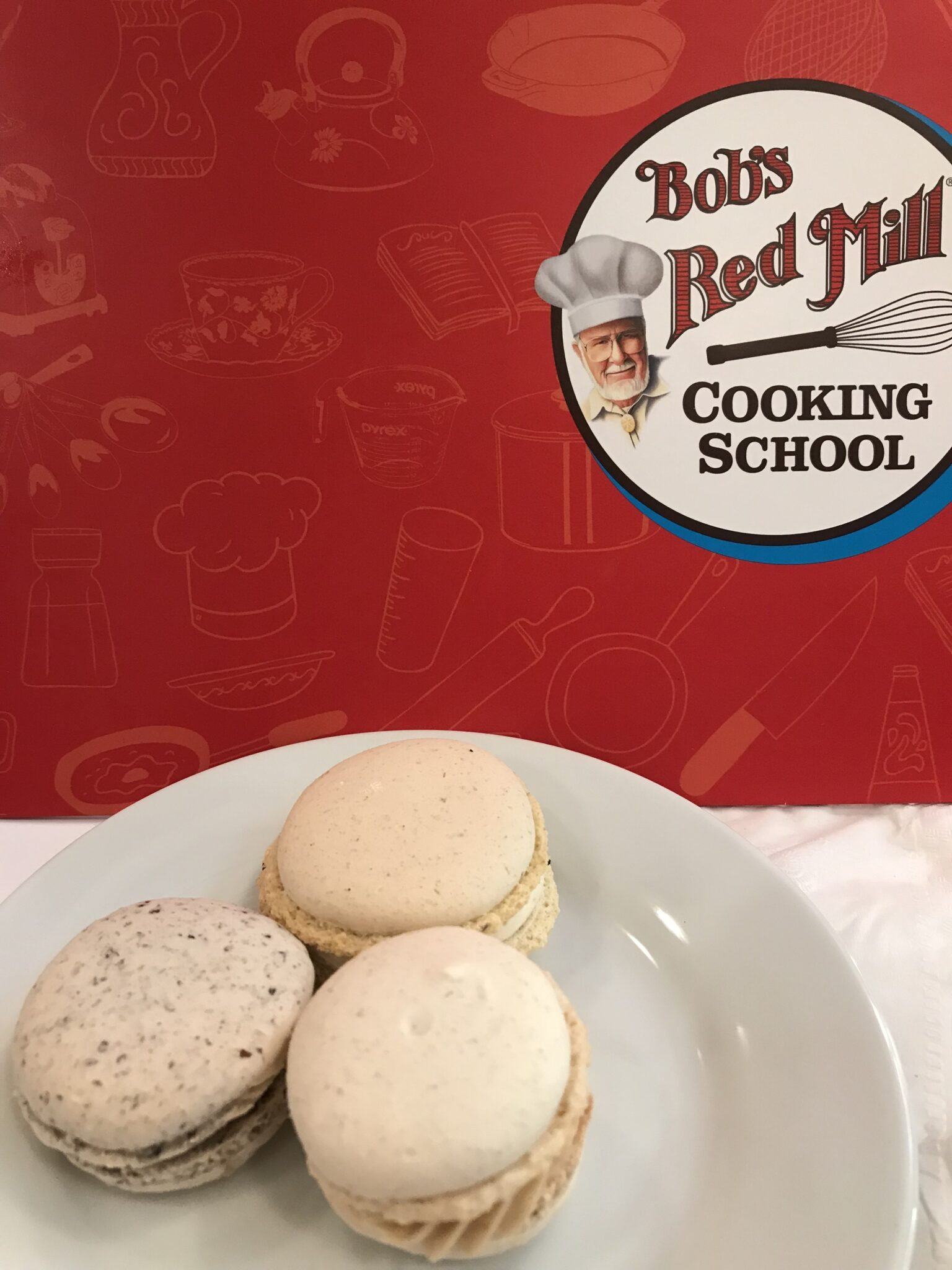 Bob's Red Mill Cooking Class – French Macarons