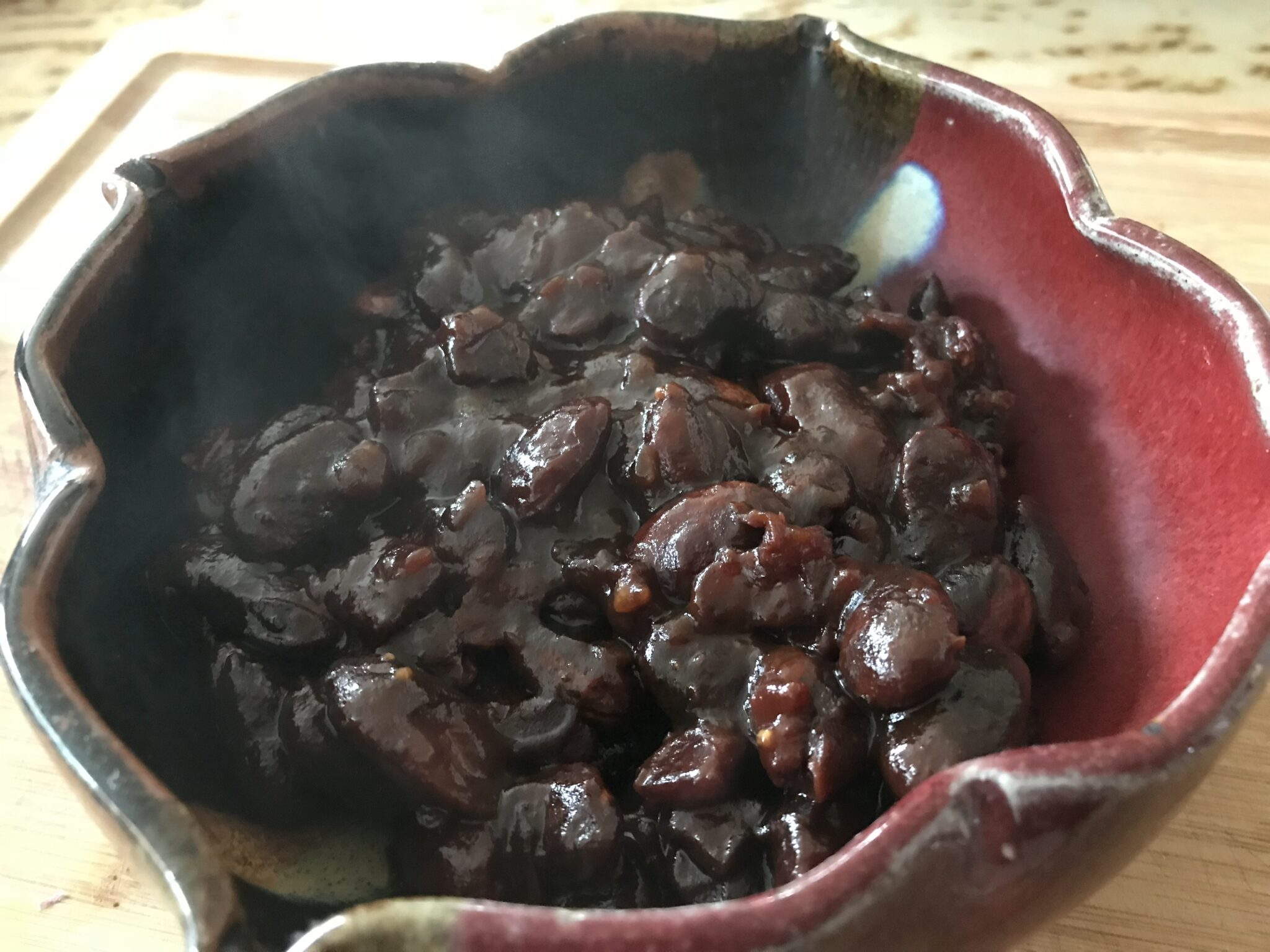 Balsamic Glazed Sweet Beans