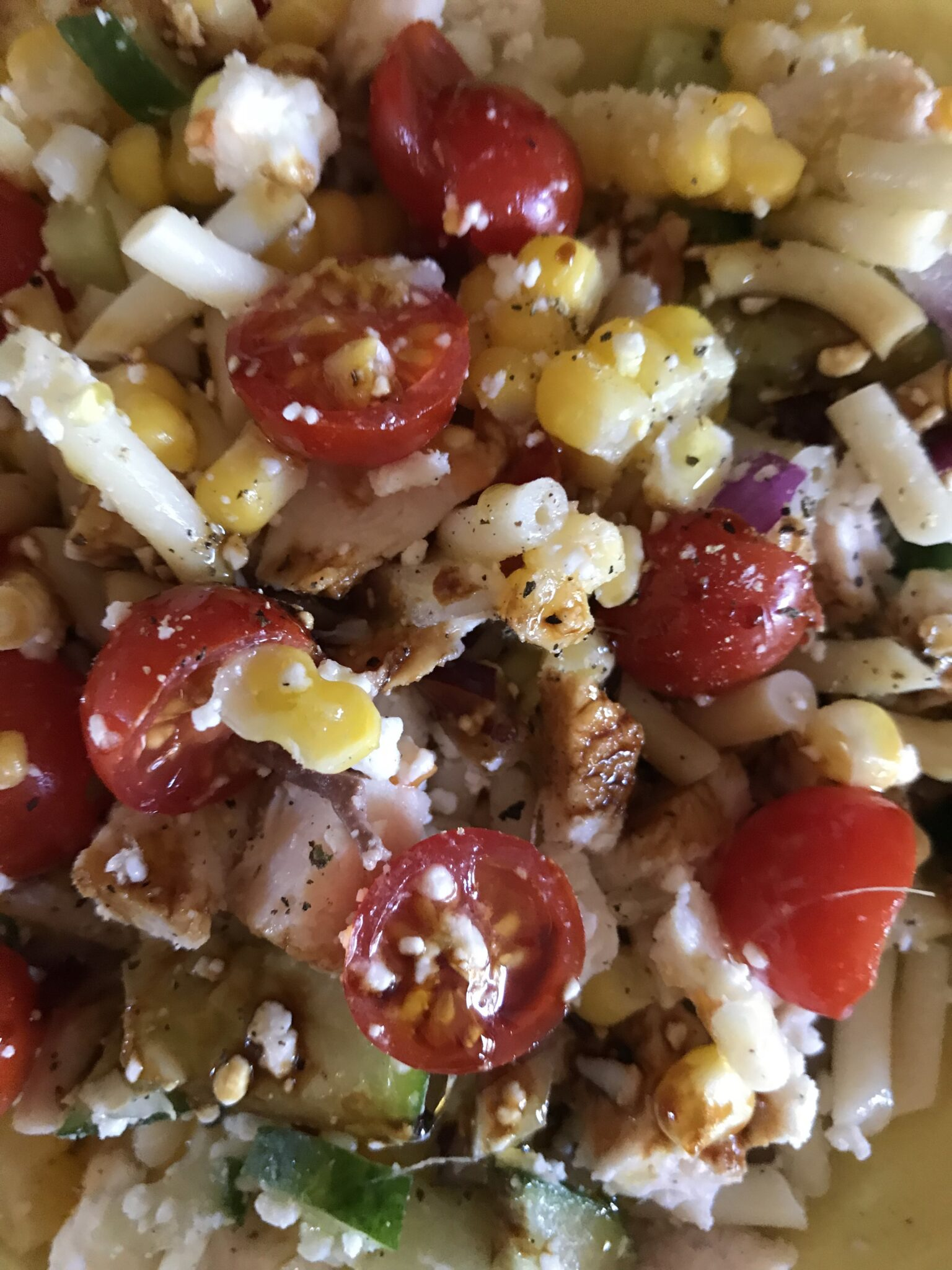 End The Leftover Challenge With Chicken Pasta Salad