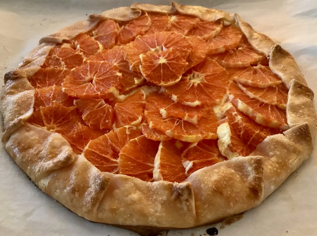 Orange Crostata