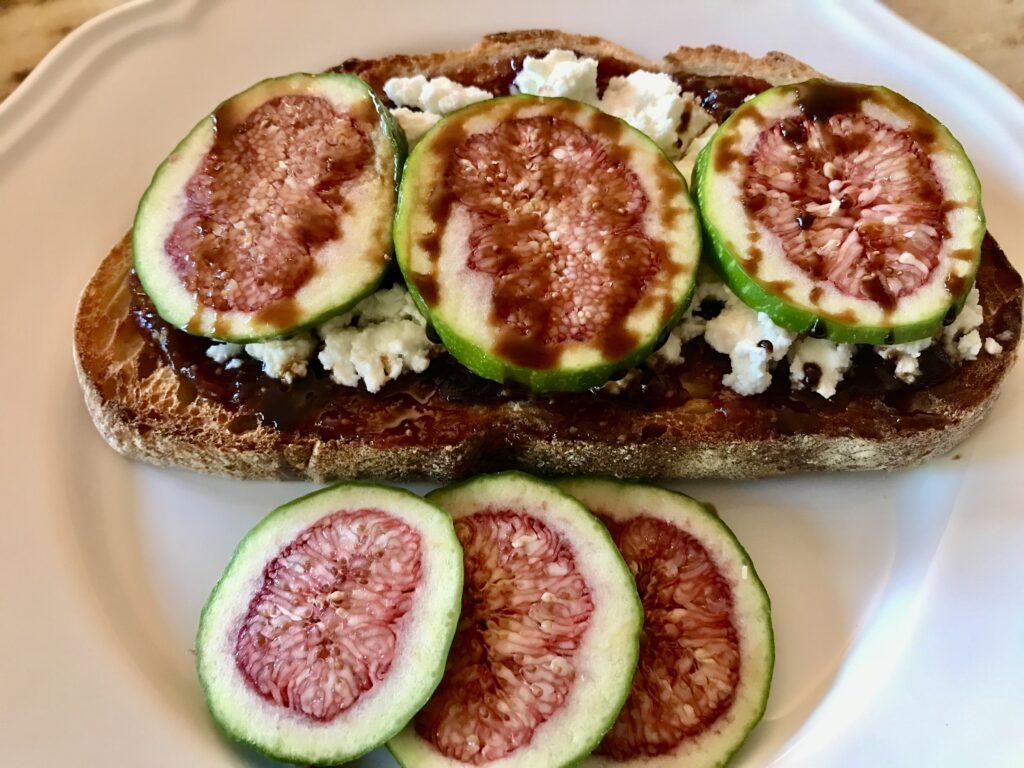 Fig & Ricotta Toast