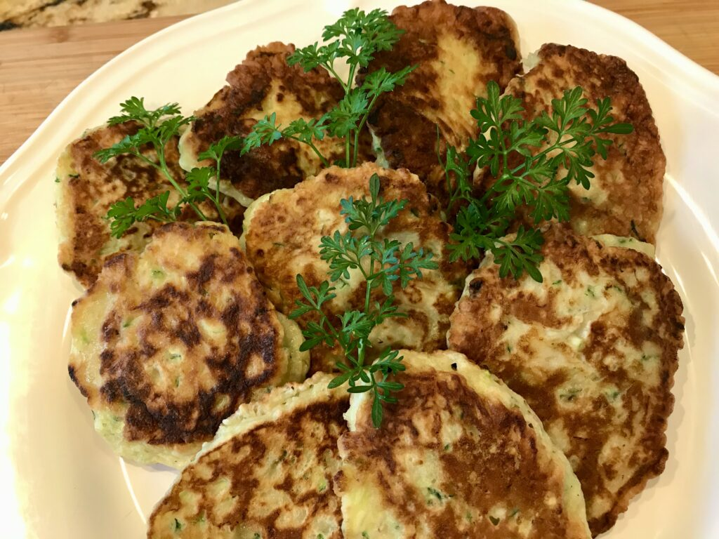 Food Frenzy With Fritters